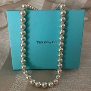 Tiffany & Co Graduated Bead Necklace